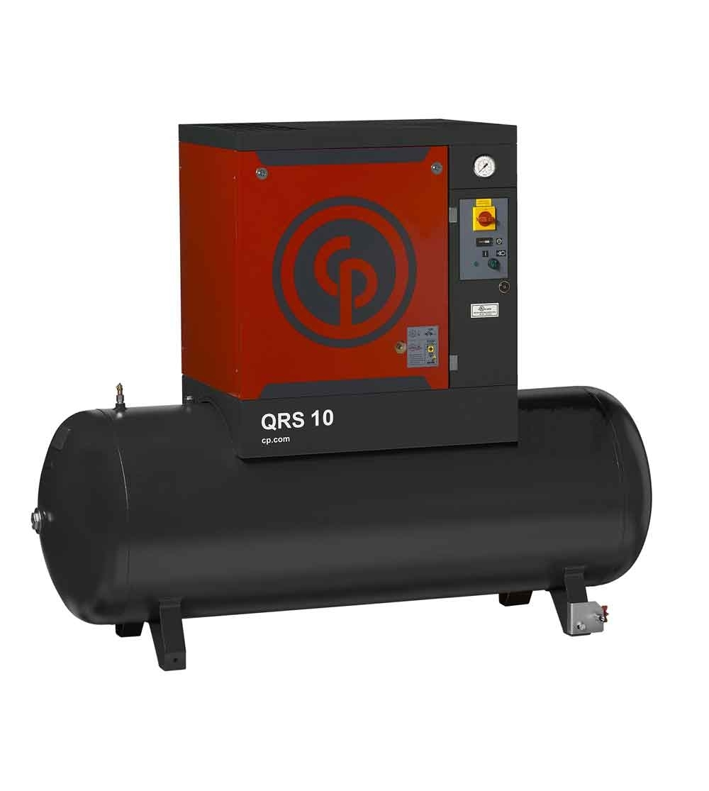 QRS 10 with 10HP dryer from Chicago Pneumatic