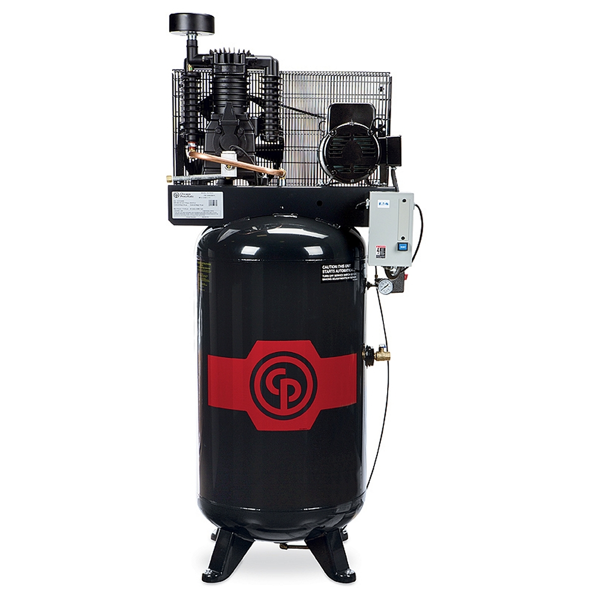 Chicago Pneumatic 5HP Electric Air Compressor with 80G Vertical Tank