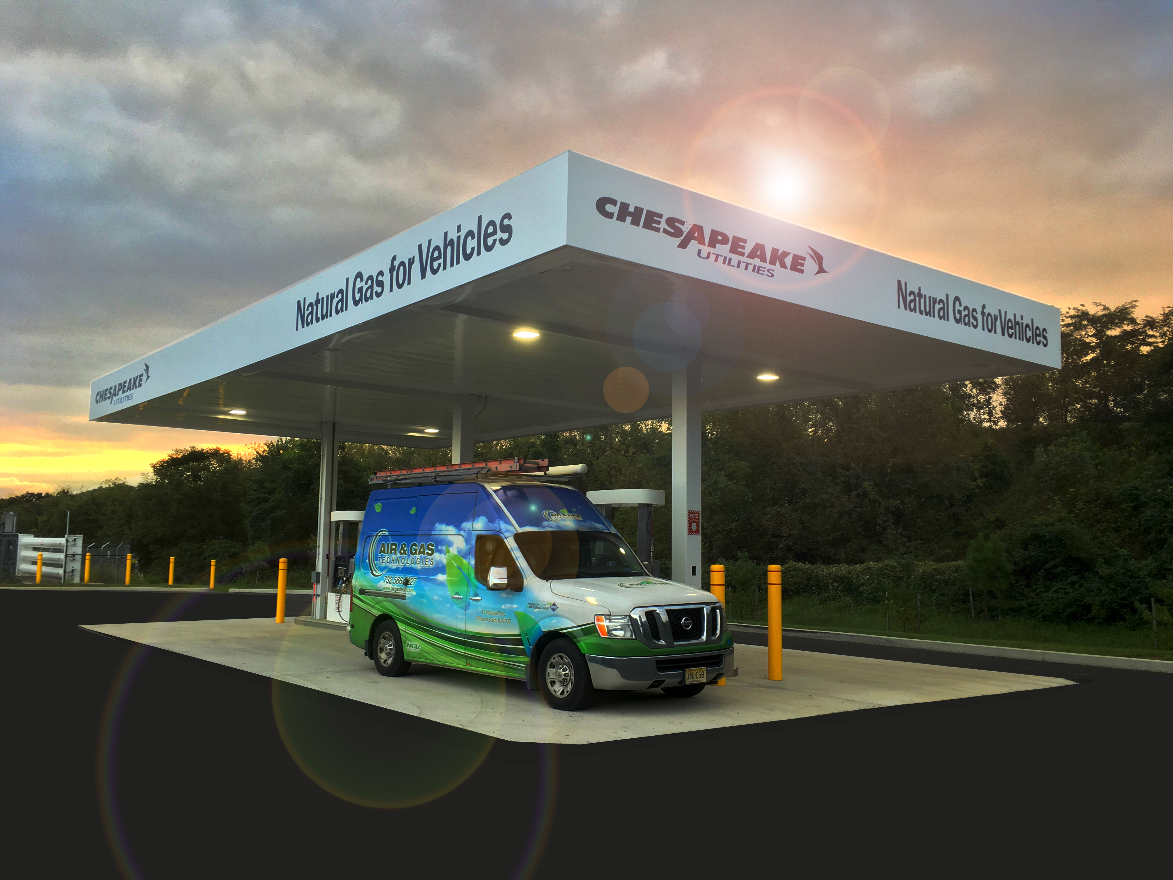 Chesapeake Utilities CNG Station